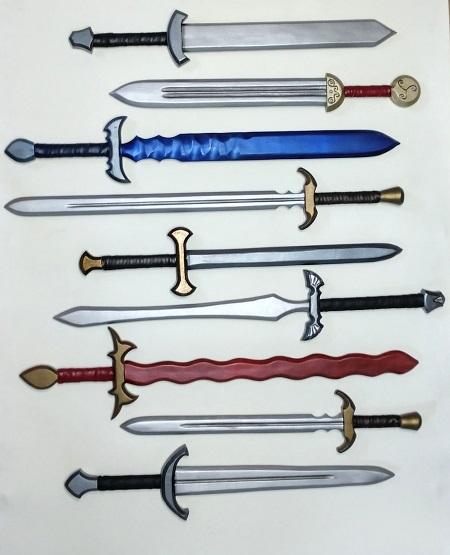 LARP Swords